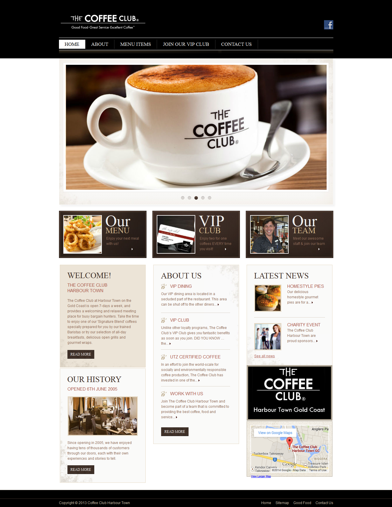 Coffee Club Harbour Town – Cafes – Gold Coast Coffee 2014-04-27 12-12-25